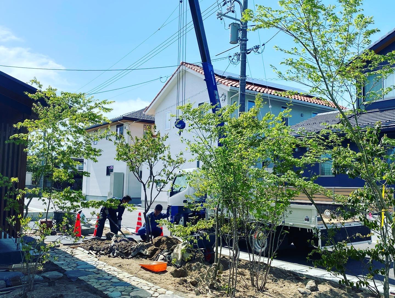 米子市M邸造園・外構工事